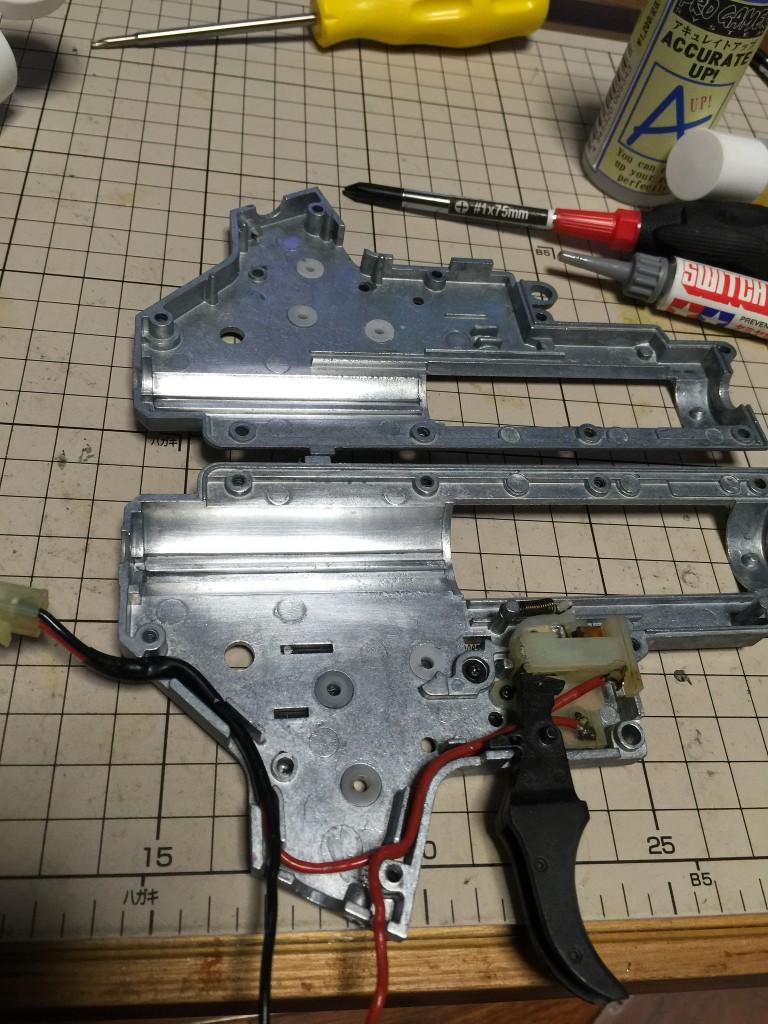 MP5A4 メカボ洗浄後