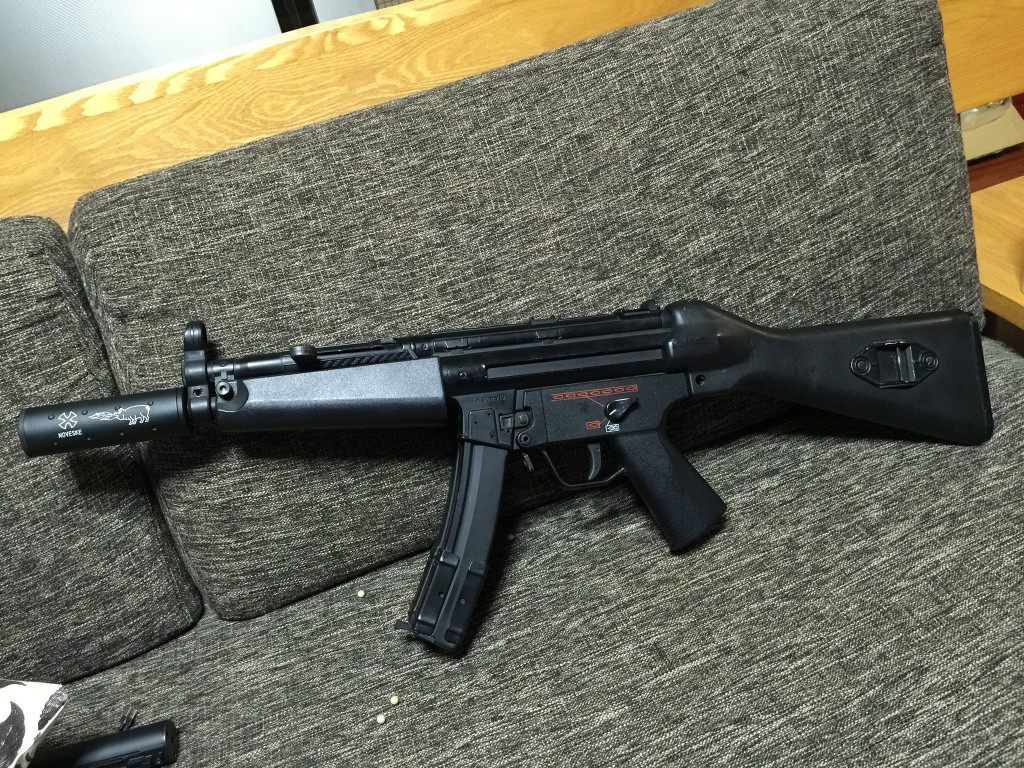 MP5A4 一旦組み上がり