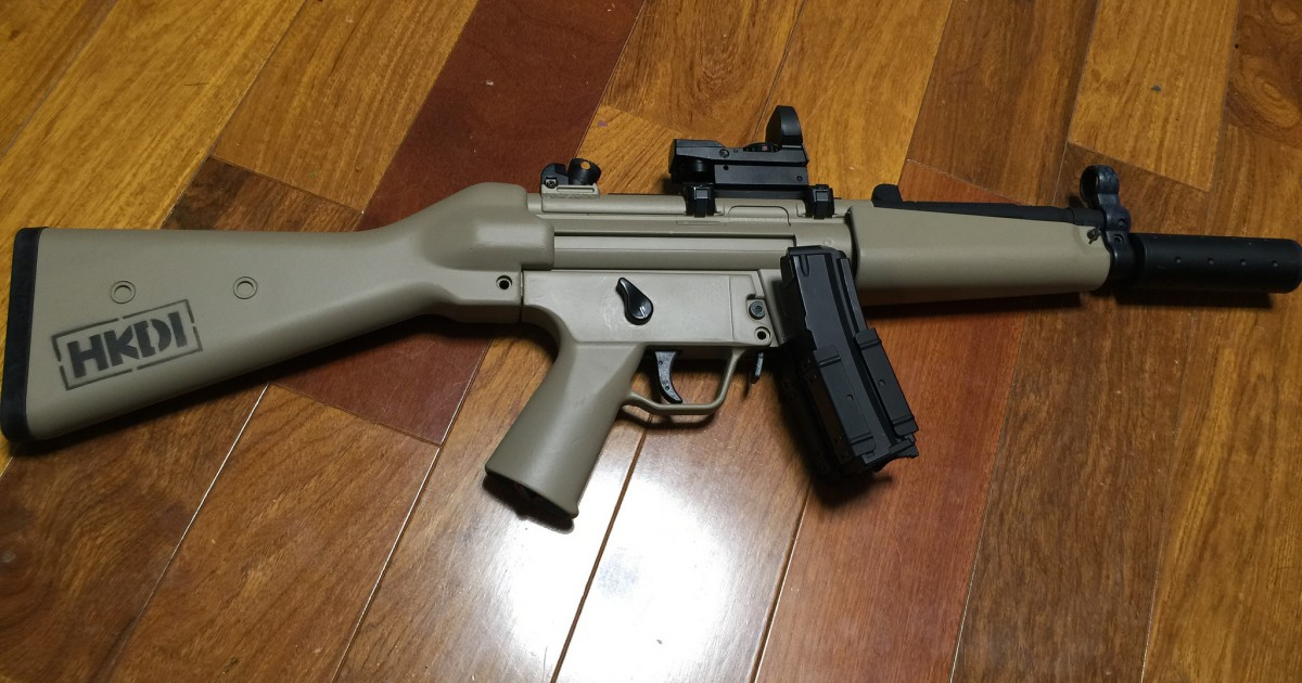 MP5 塗装完了