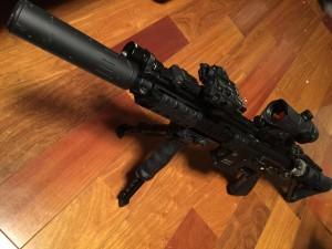 愛銃HK416D DEVGRU CUSTOM