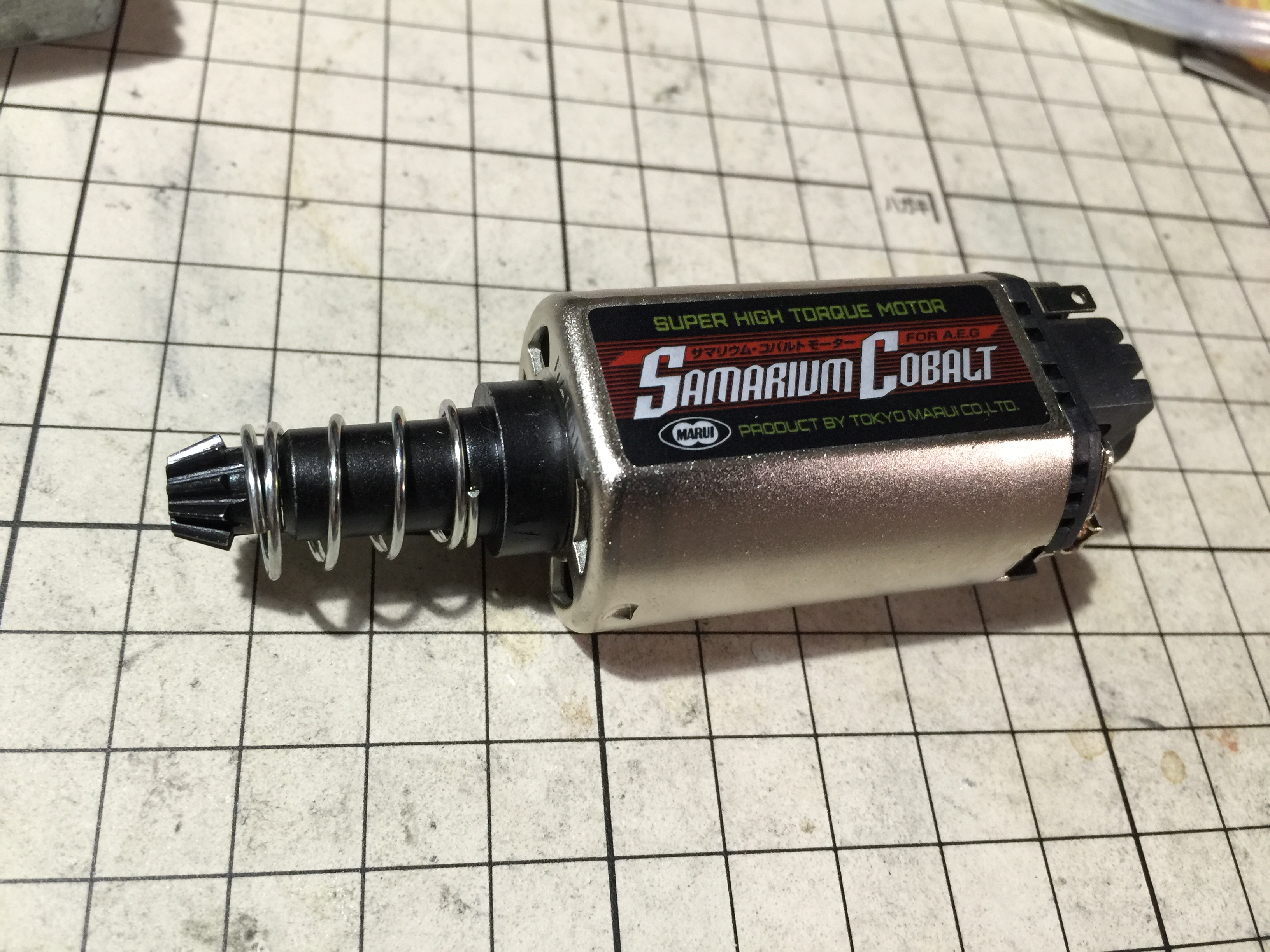 【カスタム】夏HK416D!~サマリウムコバルトモーター搭載 実装編~