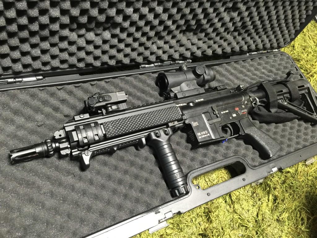 夏用HK416D完成
