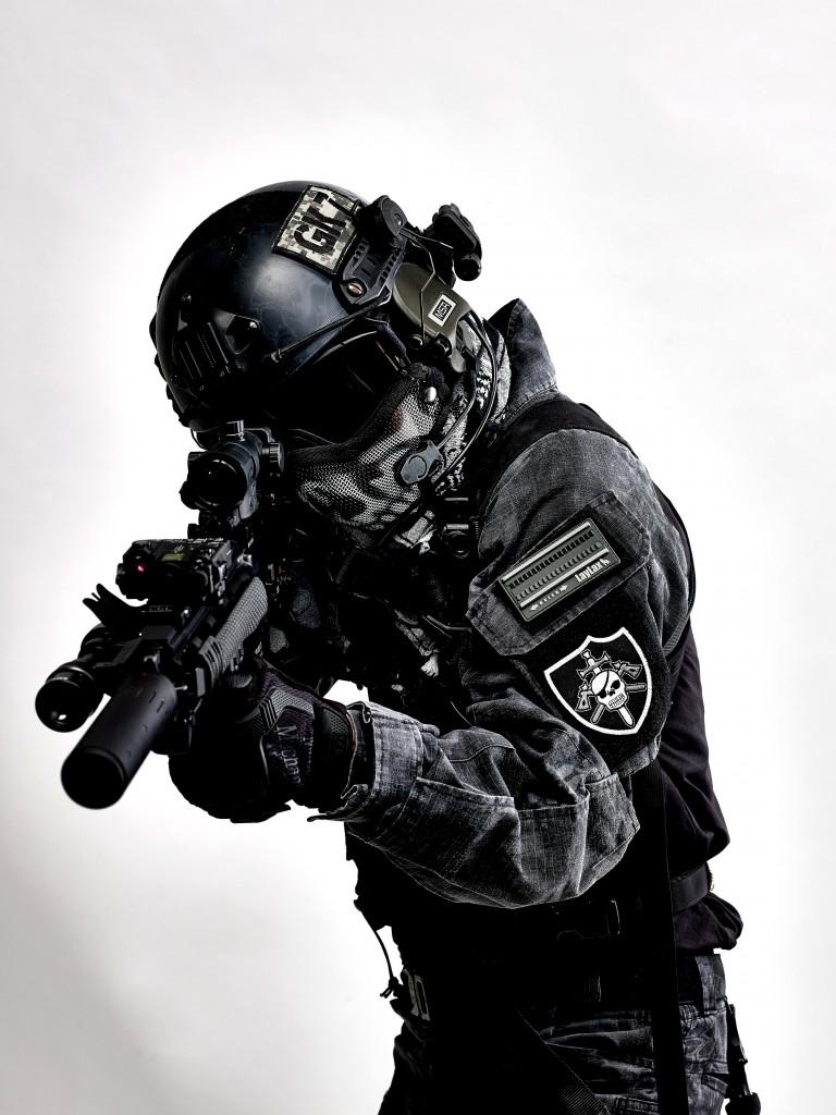 HK416D Typhon装備-2
