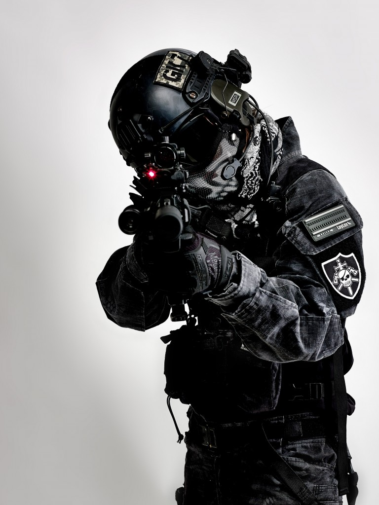 HK416D Typhon装備-
