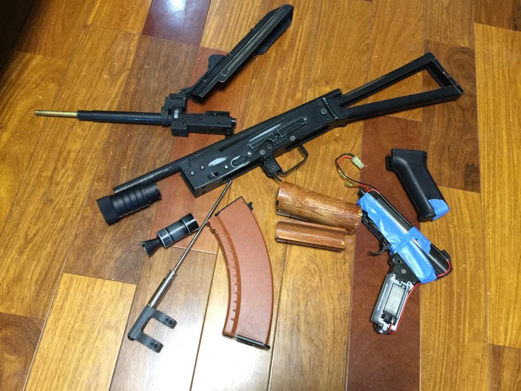 AKS74U 引取時