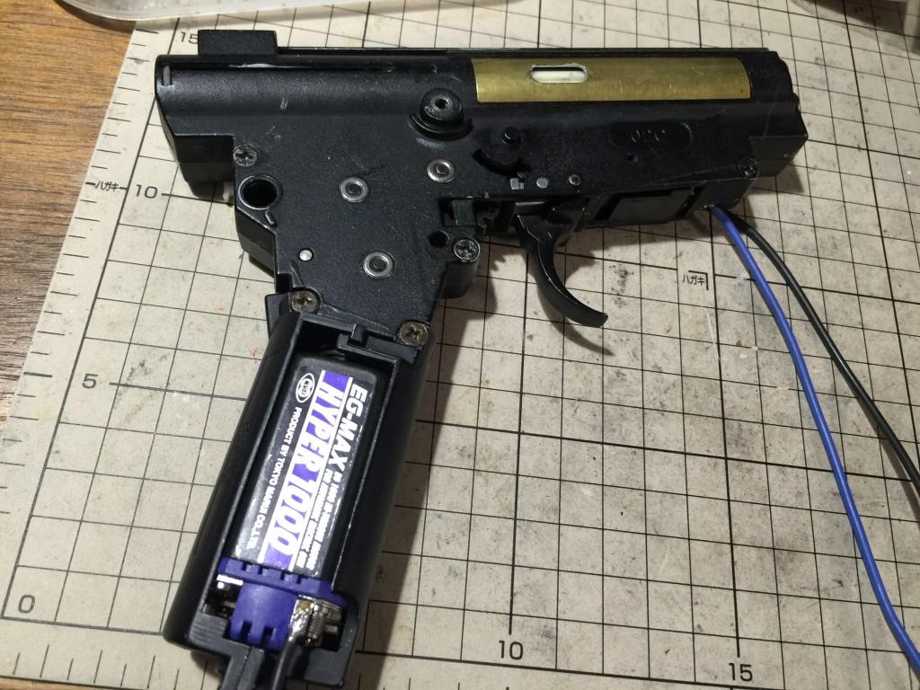 CYMA AKS74Uメカボ組みあがり