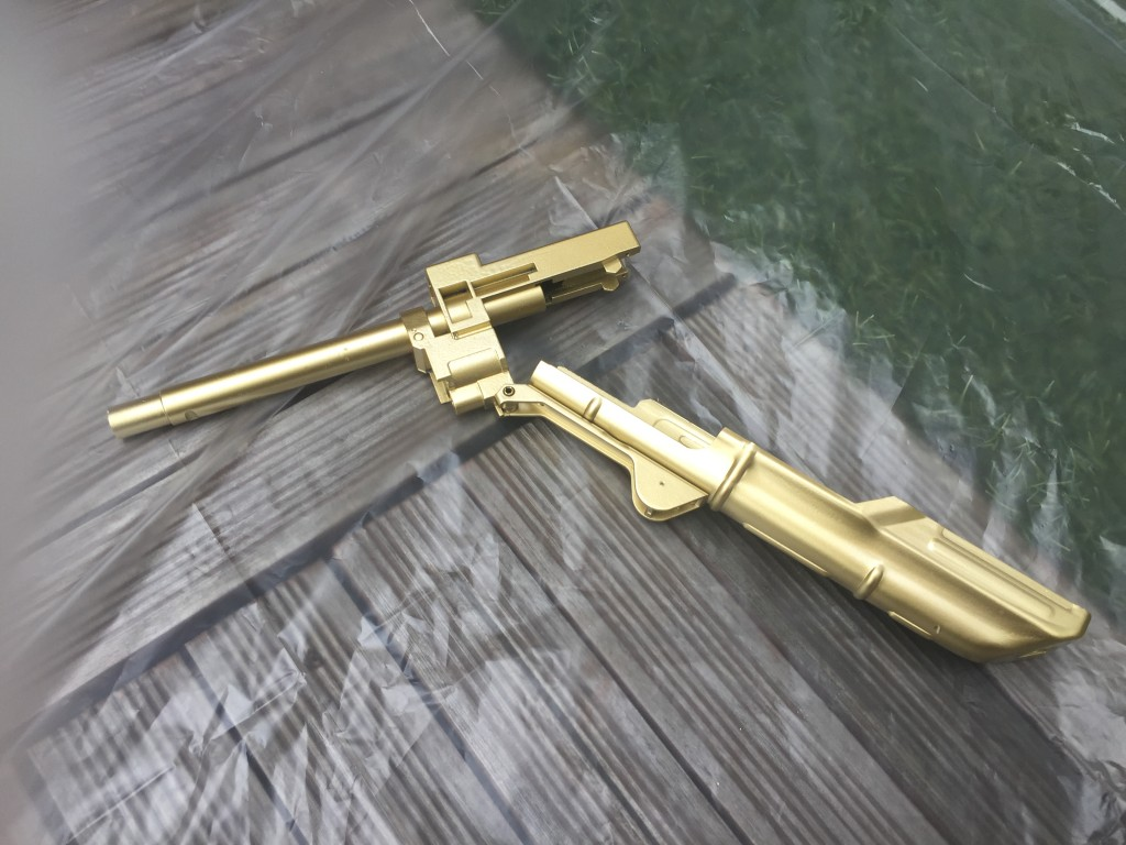 AKS74Uアッパーレシーバー塗装