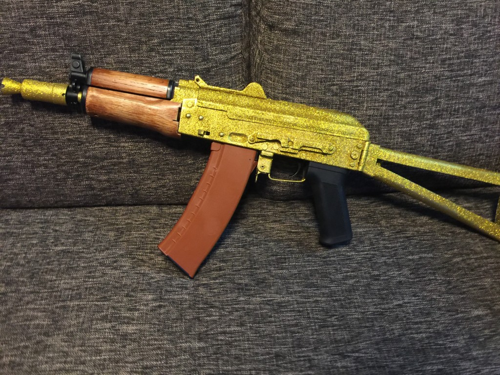 AKS74U 仮組み