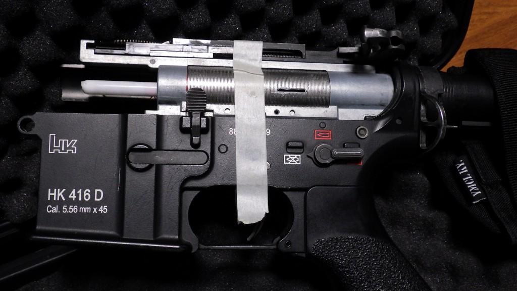 HK416D 分解