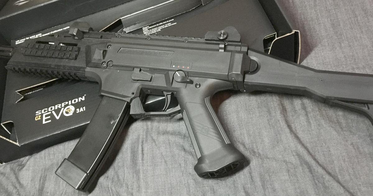 ASG CZスコーピオン EVO3 A1